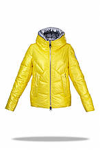 Зимняя куртка женская Freever желтая