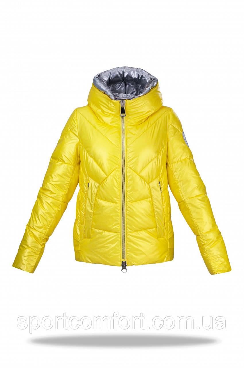 Зимова куртка жіноча Freever жовта