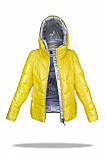 Зимняя куртка женская Freever желтая, фото 2