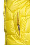 Зимняя куртка женская Freever желтая, фото 4