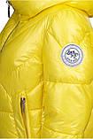 Зимняя куртка женская Freever желтая, фото 5