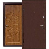 Двери входные Министерство дверей ПУ-08 дуб золотой 860*2050 левая
