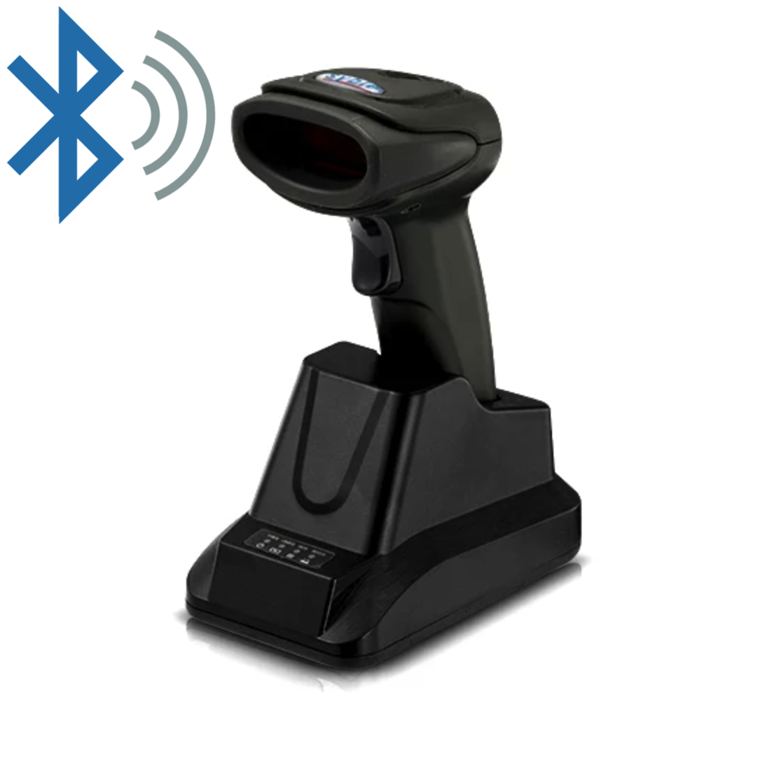 ✅ Syble XB-5066BT Бездротовий сканер штрих-кодів з пам'яттю і автосканированием
