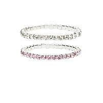 Набір браслетів Great Pretenders diamante 2 шт. (84068), фото 3