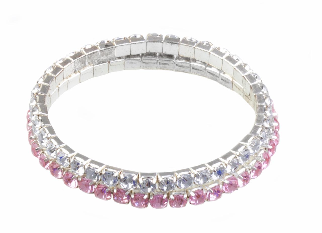 Набір браслетів Great Pretenders diamante 2 шт. (84068)