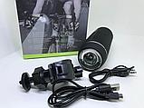 Беспроводная влагозащищенная велосипедная стерео Bluetooth колонка Hopestar P11 фонарик велосипедное крепление, фото 5