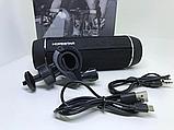 Беспроводная влагозащищенная велосипедная стерео Bluetooth колонка Hopestar P11 фонарик велосипедное крепление, фото 6
