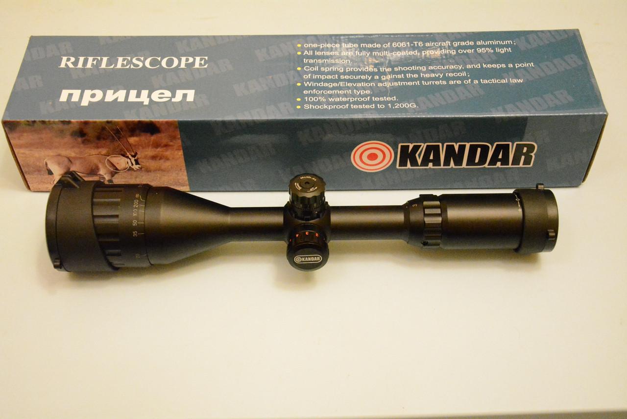 Оптичний приціл Kandar 3-9x50 AOME Польща
