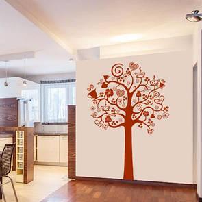 Наклейка на стіну Дерево кави