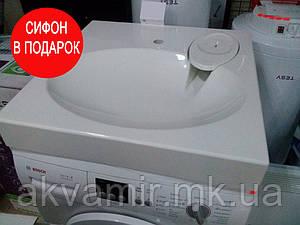 Умивальник на пральну машину Claro New з акрилу 60х60