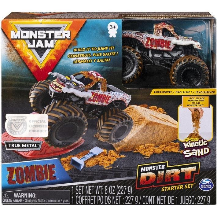 Monster Jam Внедорожник Зомби и набор для дрифта Monster Jam Monster Dirt Zombie