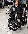 Универсальная коляска 3 в 1 с автолюлькой CARRELLO Aurora Каррелло Аврора (черная рама), фото 6