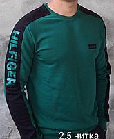 Свитшот мужской Tommy зеленый
