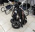 Универсальная коляска 3 в 1 с автолюлькой CARRELLO Aurora Каррелло Аврора (черная рама), фото 8