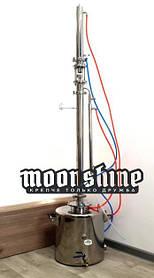 """Ректификационная колонна Moonshine Expert кламп 2"""" с баком 27 литров"""
