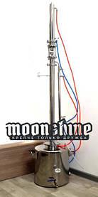 """Ректификационная колонна Moonshine Expert кламп 2"""" с баком 60 литров"""