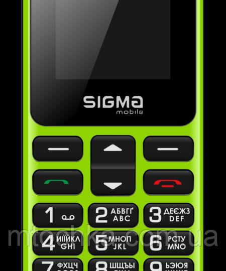 Мобільний телефон Sigma mobile Comfort 50 HIT2020 green (офіційна гарантія)