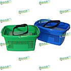 Корзина для покупок 22 л, корзина для товаров пластиковая, фото 3