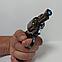 Зажигалка пистолет револьвер M10 HW на подставке, фото 3