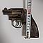 Зажигалка пистолет револьвер M10 HW на подставке, фото 4