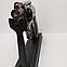 Зажигалка пистолет револьвер M10 HW на подставке, фото 5