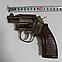 Зажигалка пистолет револьвер M10 HW на подставке, фото 6