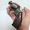 Зажигалка пистолет револьвер M10 HW на подставке, фото 7