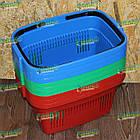 Закупочная корзина 22 л, торговая корзина для покупок, фото 6