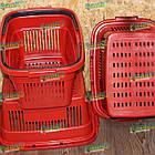 Закупочная корзина 22 л, торговая корзина для покупок, фото 8
