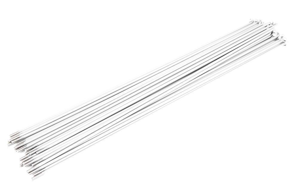 Спица Primo Forged (29-650) 182мм, 50шт, black nipples, белые