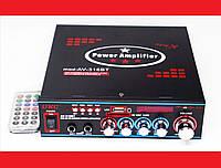 Усилитель UKC AV-316BT - Bluetooth, USB, SD, FM, MP3!  Караоке 2х канальный, фото 1