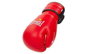 Рукавички боксерські EVERLAST MA-5018 (р-р 4-14oz,) (8 унції, Червоний)