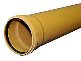 Труба ПВХ, клас N 160х4,0х3000 (3062923443), фото 2