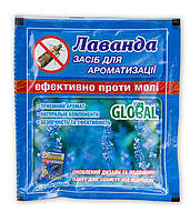 Таблетка от моли с запахом Лаванды 55 гр Global