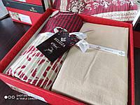 Комплект постельного белья из байки, евро размер