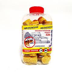 Родентицид от крыс и мышей Щелкунчик брикет 320 г желтый Агромаг 1588