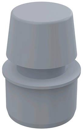 Вентиляційний клапан d40, фото 2
