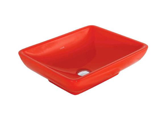 TINA Умывальник на столешницу 40х50 см. (красный) TP140.70000, фото 2