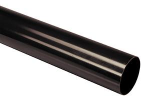 Труба водостічна без розтруба 75х3000 коричневий (3060011853)