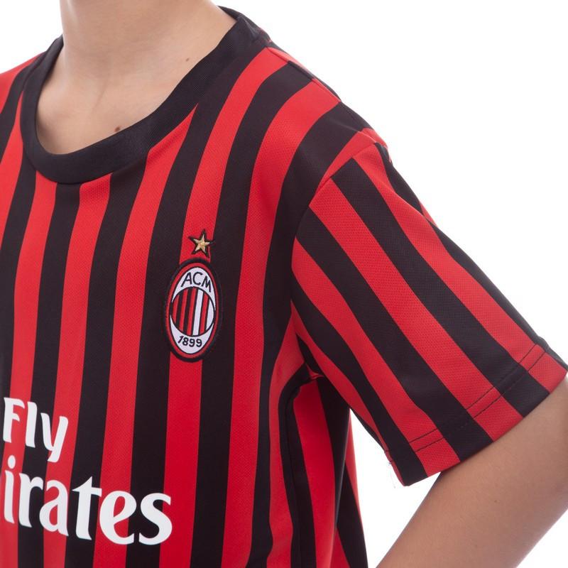 Форма футбольна дитяча AC MILAN домашня 2020 CO-0977 20, на 6 років, зріст 110 - 115