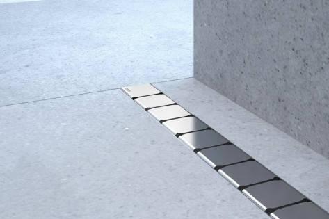 Душовий канал 10° 1000 - нержавіюча сталь, фото 2