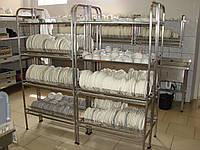 Стеллаж-сушка для посуды из нержавеющей стали