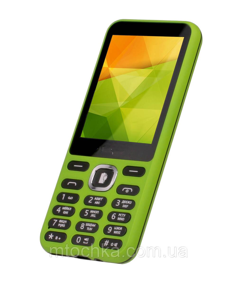 Мобільний телефон Sigma mobile X-Style 31 green Power (офіційна гарантія)