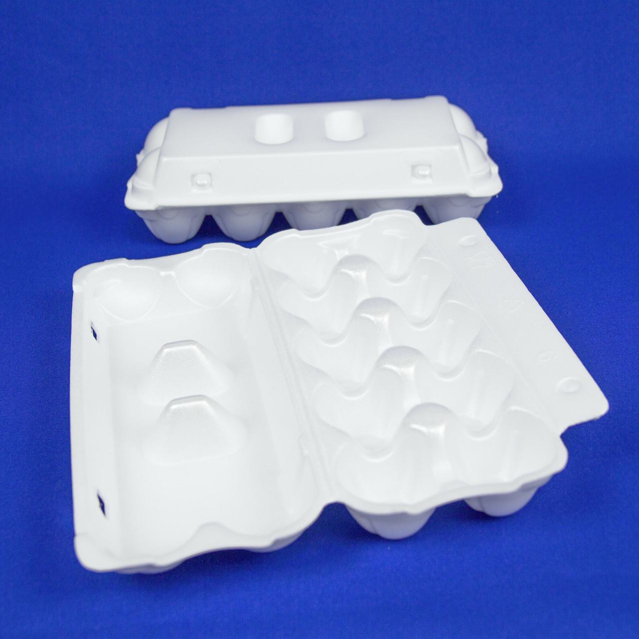Контейнеры для яиц из вспененного полистирола, упаковка — 10 шт