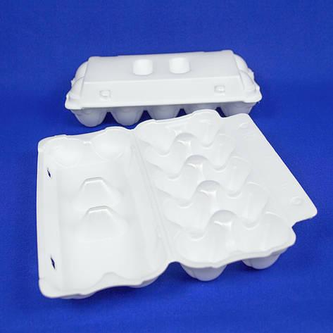 Контейнеры для яиц из вспененного полистирола, упаковка — 10 шт, фото 2