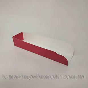Підкладка під хот-дог, червоного кольору, 205х50х40