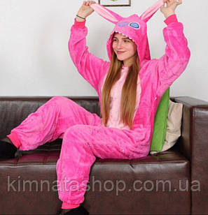 Пижама Кигуруми Стич розовый (L) -кігурумі стіч рожевий
