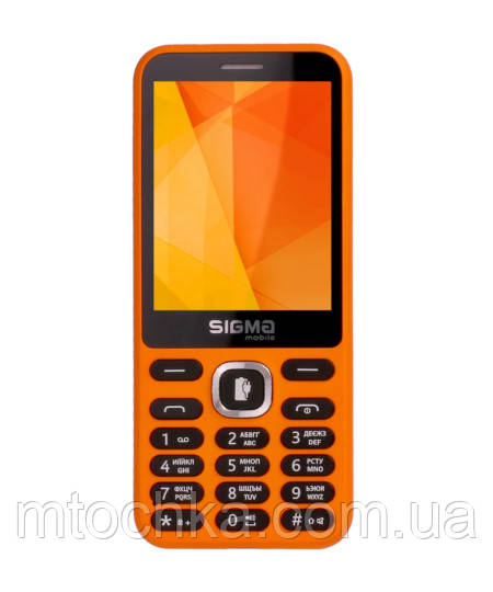 Мобільний телефон Sigma mobile X-Style 31 Power orange (офіційна гарантія)