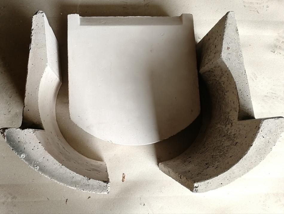 Комплект керамического блока