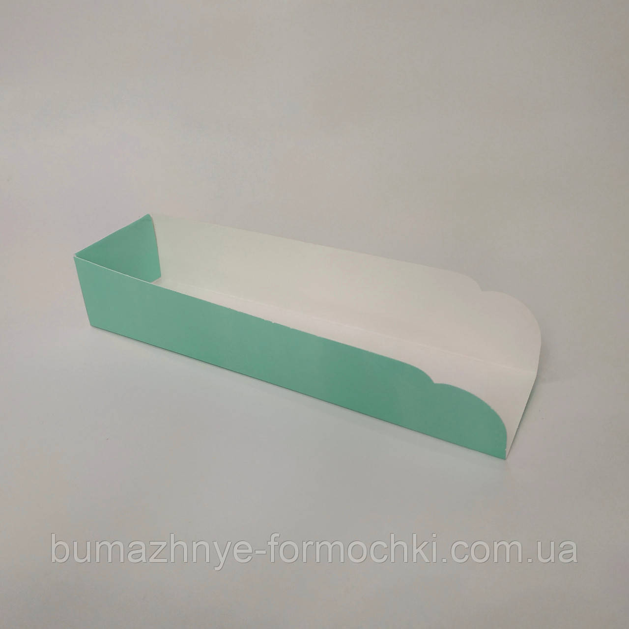 Подложка под хот-дог, цвет тиффани, 205х50х40